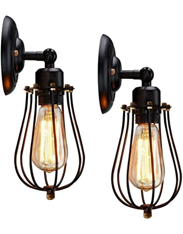 Led Indoor Wall Lamps You Retro Vintage Wall Lamp,candle Light Bedroom Corridor Aisle Stair Bedside Living Room Stair Cafe Wall Lamp Wall Sconce Bra Outstanding Features
