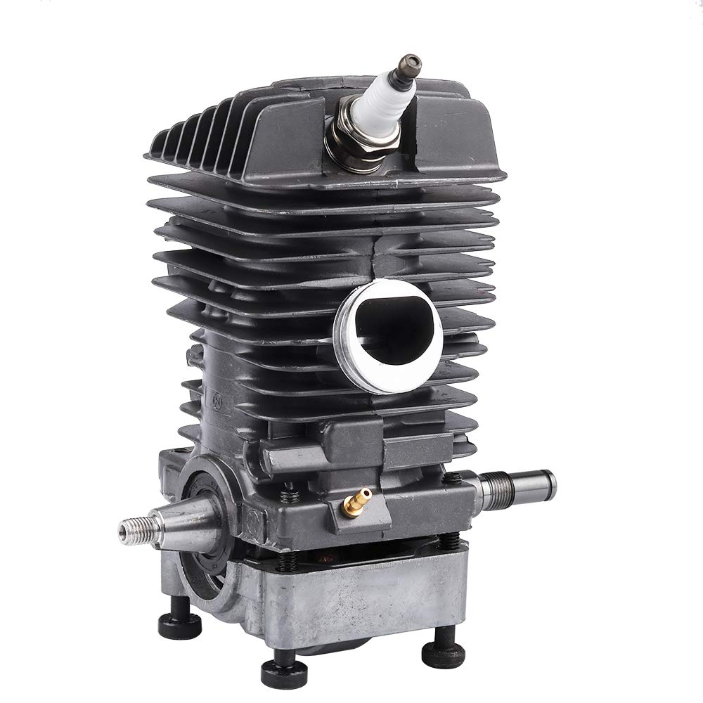 Dalom 46MM Cylinder Piston Assembly w Spark Plug for Stihl MS290 MS310 MS390 029 039 Gas Chainsaw