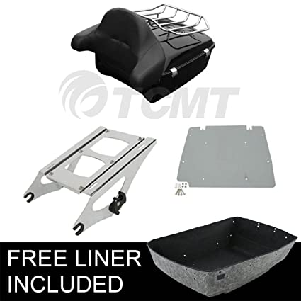 100% True 2 Up Tour Pak Pack Luggage Rack 4 Point Docking Kit For Harley Touring Electra Street Glide Road King Flht Flhx Fltr 2014-2018 Carrier Systems