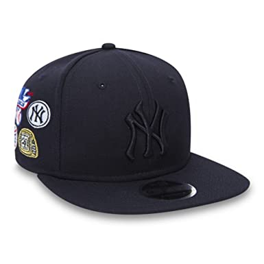 Gorra New Era - 9Fifty Mlb New York Yankees Winners Patch azul talla: M/L: Amazon.es: Ropa y accesorios