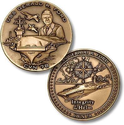 USS Gerald R. Ford, CVN-78 Challenge Coin