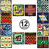 Tigerdoe Travel Games for Kids-12pk Individually Packaged- Mini Magnetic Board Games by Tigerdoe