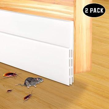 Amazon com: 2-Pack Door Draft Stopper, Self Adhesive Under