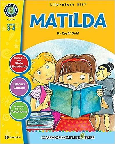 Matilda: novel-ties study guide: roald dahl: 9781569820650: amazon.