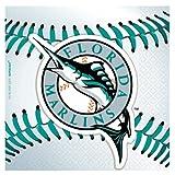 MLB Florida Marlins Small Napkins (36ct)