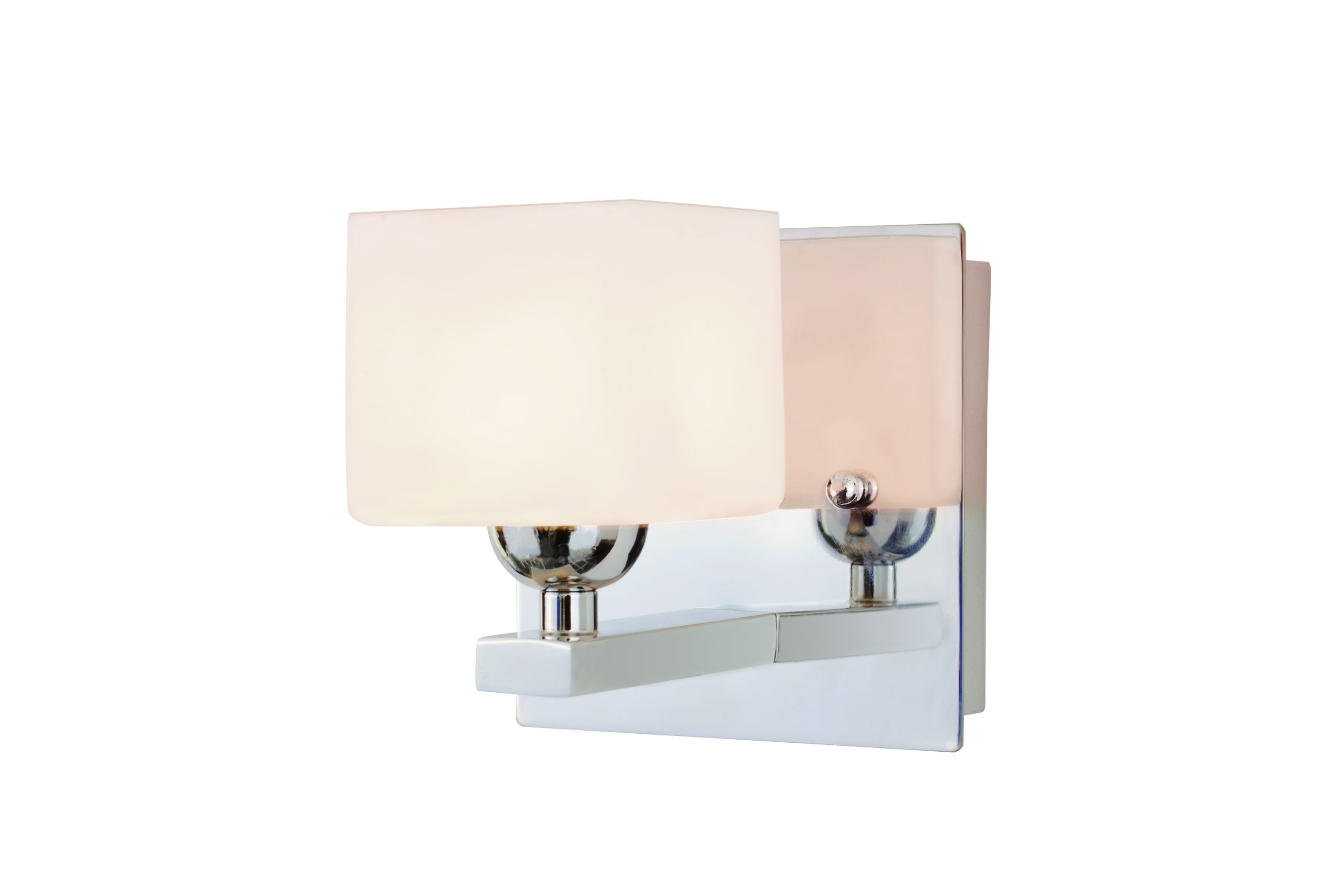 Trans Globe Lighting 2691 PC Indoor  Vienna 5.125'' Wall Sconce, Polished Chrome
