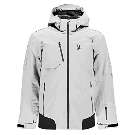 5ff44e945 Amazon.com : Spyder Legend Pinnacle Men's Ski Jacket White - XL (54 ...