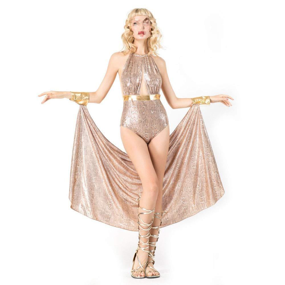 Frauen Sexy Pailletten Engen Rock Cosplay Kleid Halloween Party Kostüm Ball Zeigen Requisiten - Kleid + Mantel