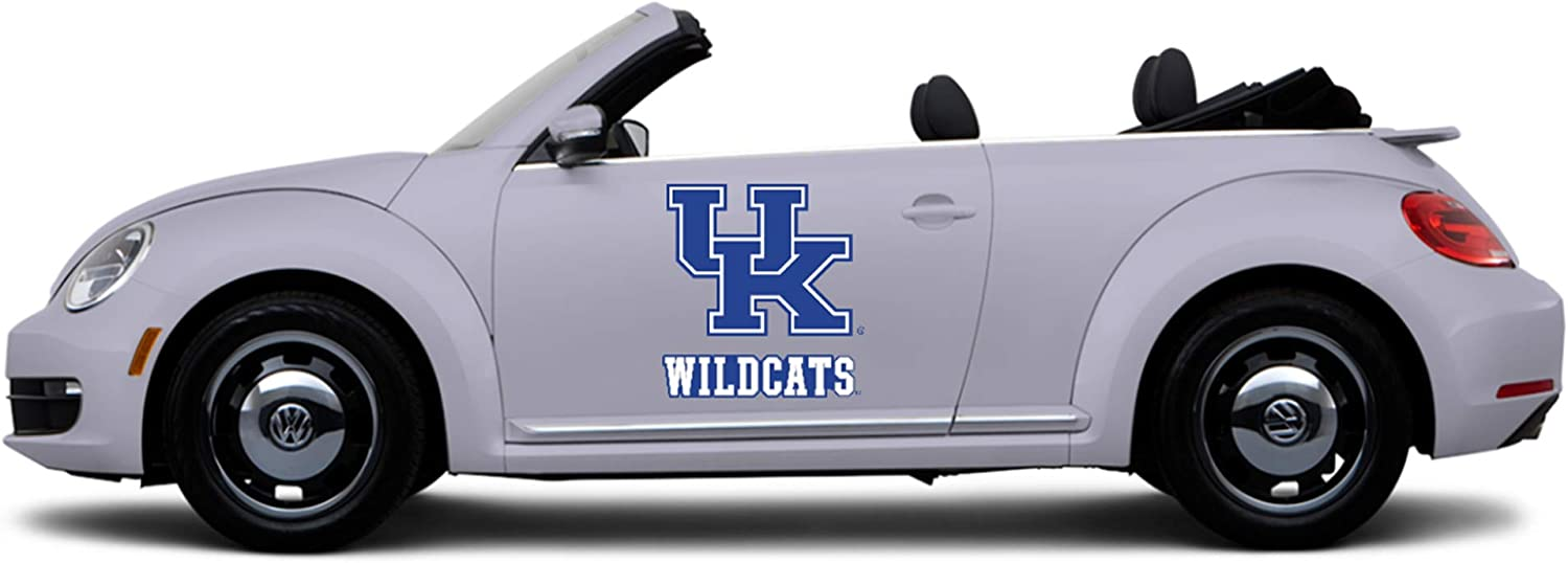 Trucks GameDay Graphics University of Kentucky Vehicle Sticker Decals College Sports Teams Premium Reusable Athletic Stickers Tailgating University of Kentucky Blue, 25 x 30 Cars
