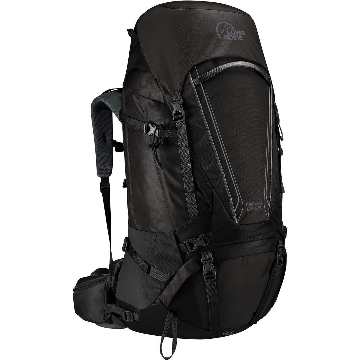 (ロウアルパイン) Lowe Alpine Diran 55:65 Backpackメンズ バックパック リュック Anthracite [並行輸入品]   B07BZGSD6Y