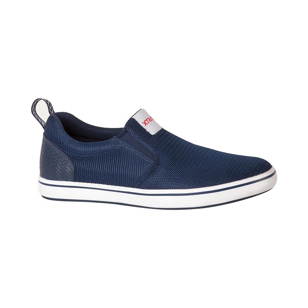 Xtratuf Men's Sharkbyte AM Slip On Shoes, Blue, 12 M