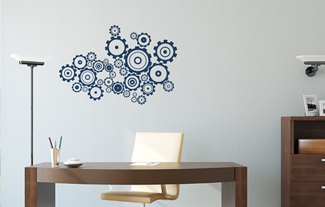 Buy Asian Paints Royale Play Wall Fashion Mechatronics Stencil Wall Sticker For Home And Office Wall Decor Online At Low Prices In India Amazon In