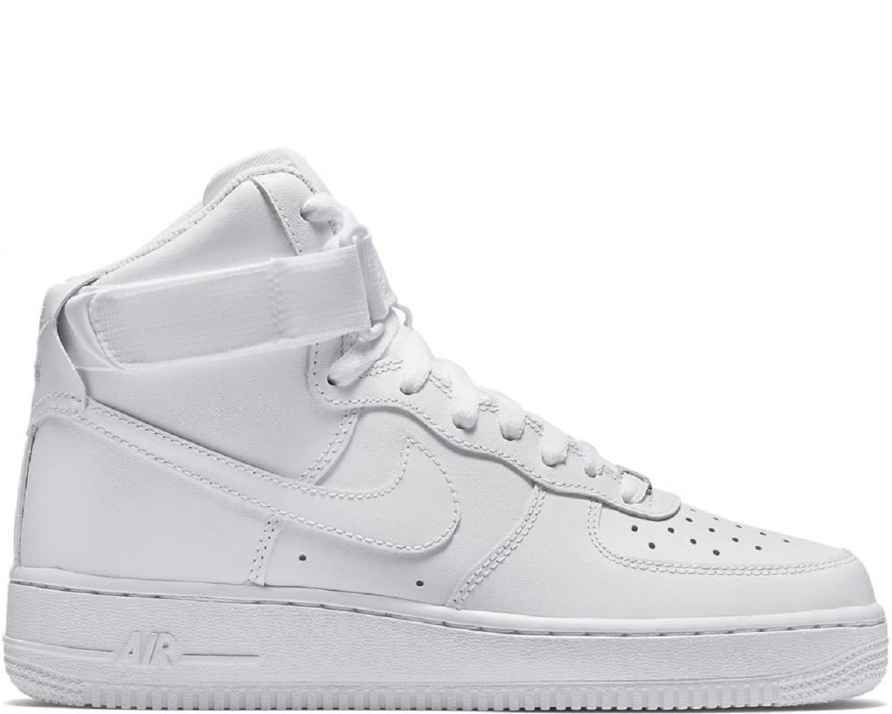 Nike AIR FORCE 1 HIGH womens basketball-shoes 334031-105_7 - WHITE/WHITE-WHITE