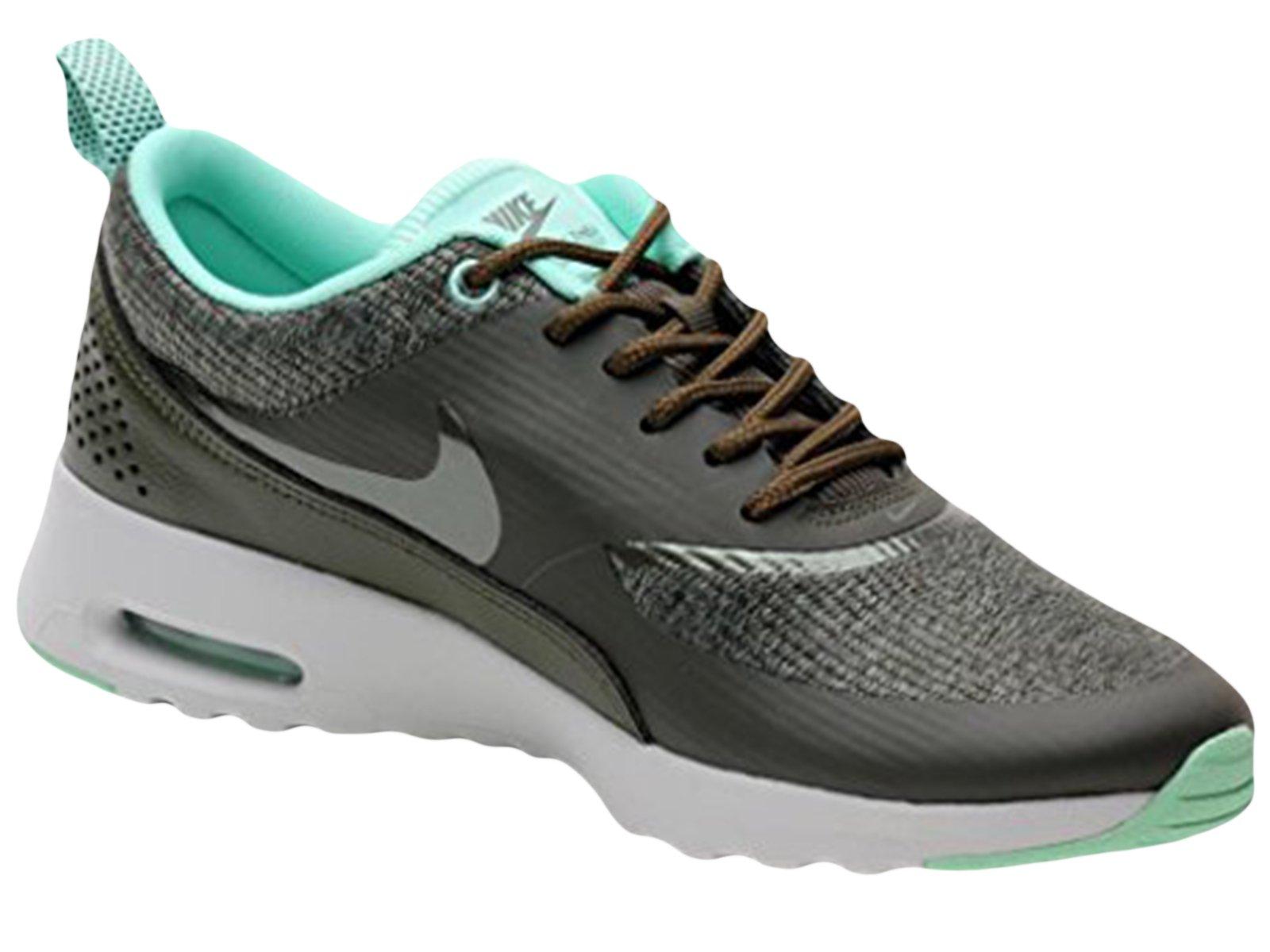 newest d31ba b082d Galleon - Nike Womens Air Max Thea Prm Cargo Khaki Light Ash Grey  616723-301 10