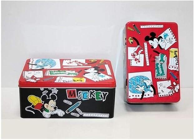 Unió11 Caja Metal de Mickey Mouse Medidas 20 x 13 cm: Amazon.es: Hogar
