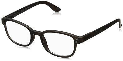 0fa90f5b68ff Corinne McCormack Women s Black Color Spex 1015407-000.CMC Square Reading  Glasses