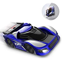 DEERC ラジコンカー こども向け 壁を走る 車 おもちゃ 壁・天井・床 激走カー 赤外線コントロール 吸着 無線操作 LED搭載 リモコンカー おもちゃ プレゼント 贈り物 DE31