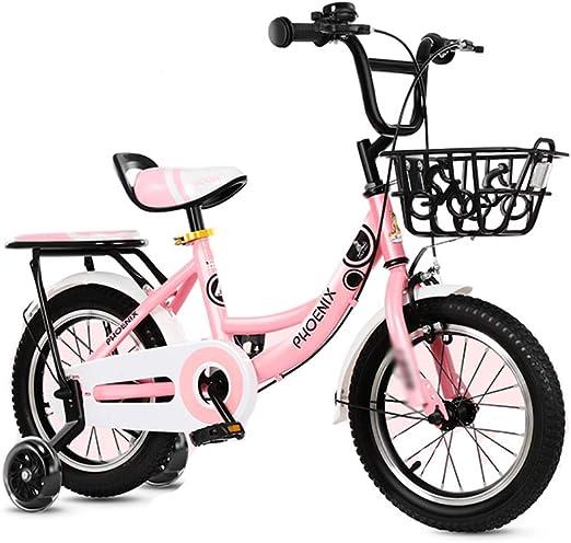 DT Bicicleta para niños Multicolor 12/14/16 Pulgadas 2-3-4-6-7-8-9 ...