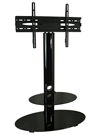 Mountright Cs001 Gloss Tv Stand With Swivel Mount Bracket For 32 Up