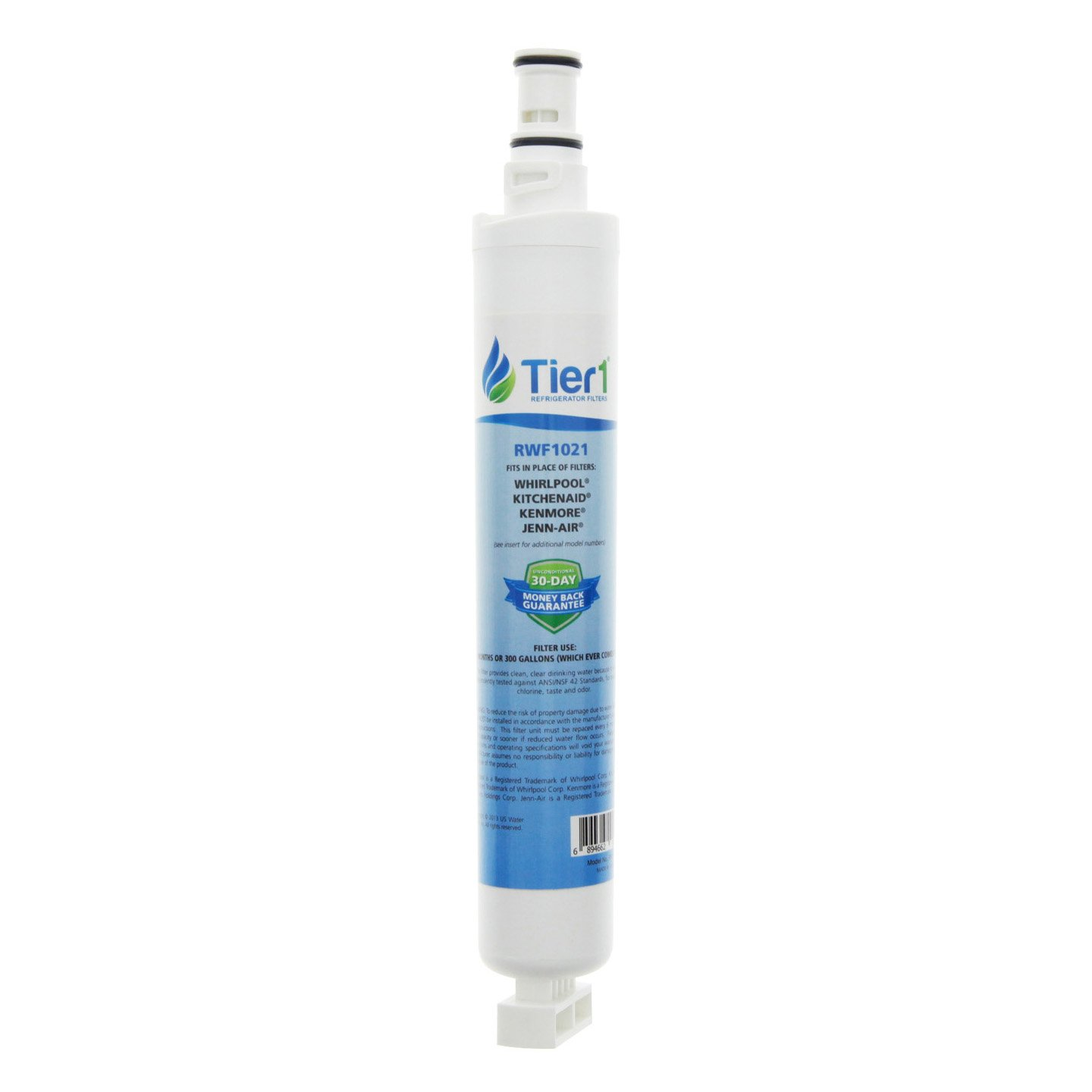 Tier1 Replacement for Whirlpool 4396701, EDR6D1, Kenmore 9915, 46-9915, NL120V, 4396701, 4396702 Refrigerator Water Filter