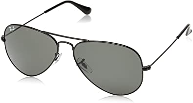 ray ban aviator black polarized