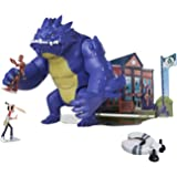"""The Last Kids On Earth Chompin' Blarg 9"""" Action Figure Playset with Jack and Zombie Action Figures, Disk Launcher & Diorama P"""