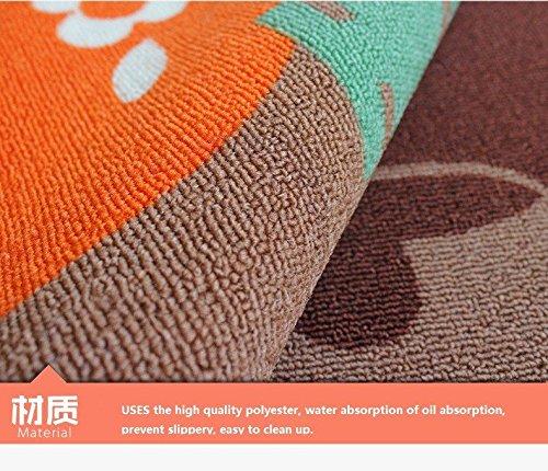 Contemporary Kitchen Rugs: Designer Teapot Print Area Rug,Unique Room Floor Mats