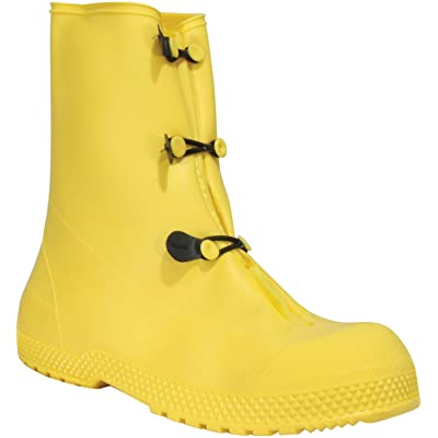 "Servus SuperFit 12"" PVC Dual Compound Men's Overboots, Yellow (11926-Bagged) - Work Boots - .com"