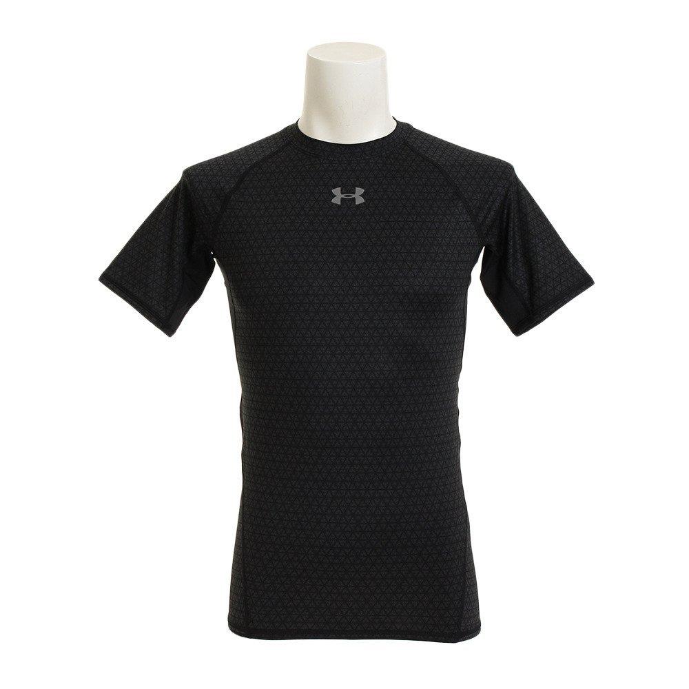 Under Armour Mens UA HeatGear Armour Printed Short Sleeve Compression Shirt