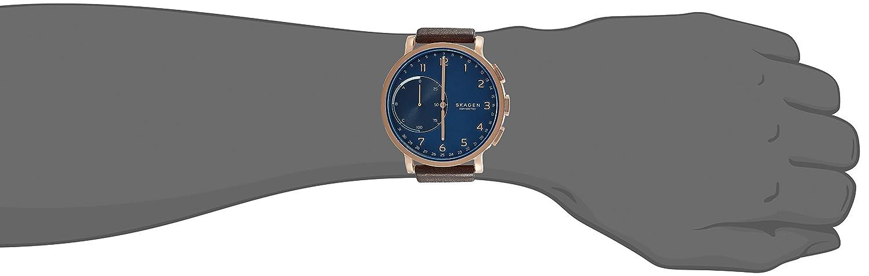 Skagen Reloj Unisex de Analogico con Correa en Cuero SKT1103