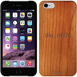 fashion case iphone 5s Madera Wood Thinshield Case with die n00b Design
