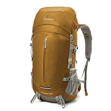 MOUNTAINTOP Mountain Top Adultos Mochila, Color Amarillo, tamaño 60 x 30 x 21 cm, 50 Liter, Volumen Liters 50.0: Amazon.es: Deportes y aire libre