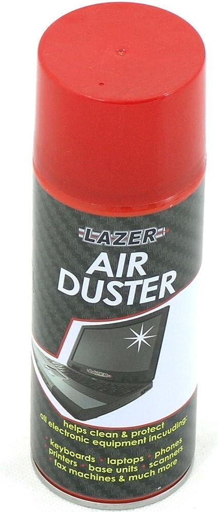 Aire Comprimido Duster Spray puede 200 ml limpia y protege portátiles Teclados..., pack de 24