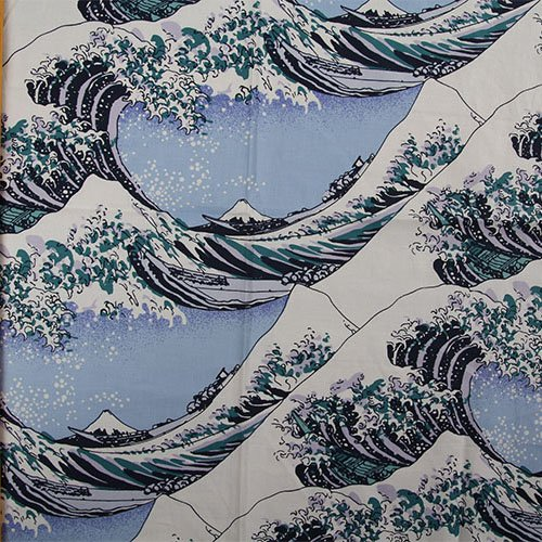 Fabric Japanese Print - 55