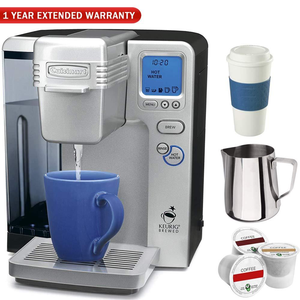 Cuisinart SS-700 Single Serve Keurig Brewing System (Certified Refurbished) Ultimate Coffee Drinker Bundle