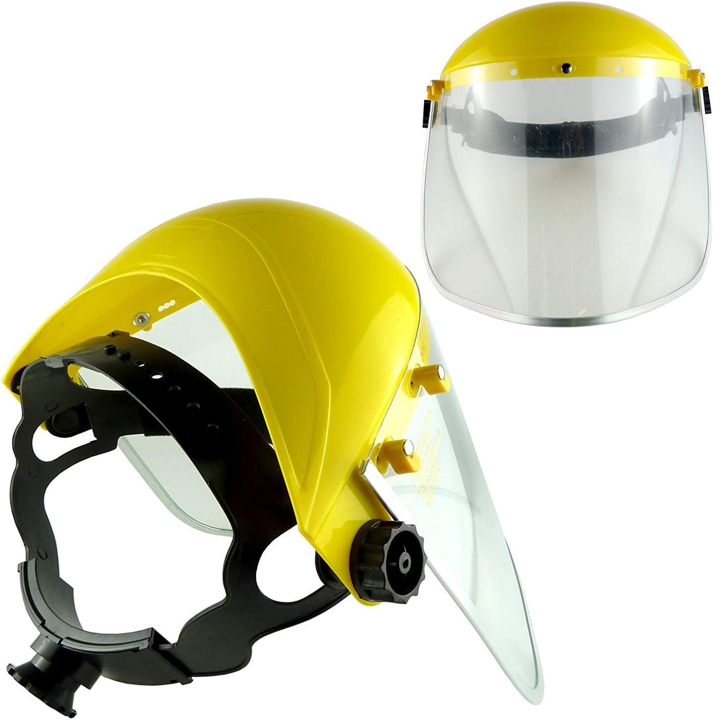 1Pcs Face Shield Clear Vision Mesh Visor