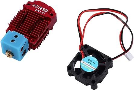 Semoic Impresora 3D Hot End 2 en 1 Salida Switch Color Bowden ...