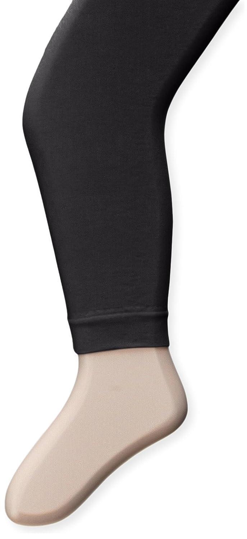 Capezio Little Girls' Ultra Soft Footless Tight Black One Size(2-6) Capezio Girls 2-6x 1817X
