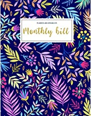 Monthly Bill Planner and Organizer: monthly billing planner | 3 Year Calendar 2020-2022 My monthly bill planner with income list,Weekly expense ... Notebook (Financial Planner Budget Book)
