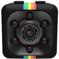 MENGZHEN SQ11 1080P Mini Cámara, Cámara Deportiva Cámara HD Videocámara Visión Nocturna Miniatura, Cámara Oculta Miniatura