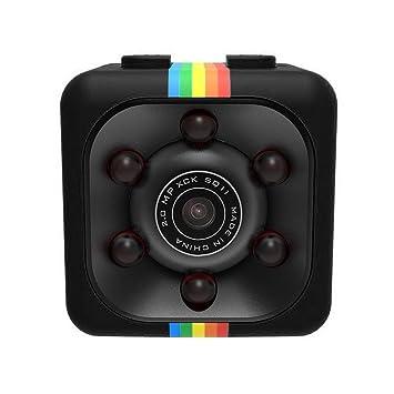 SMARTRICH Videocámara Oculta Espía - 1080P Mini SQ11 Cámara de Coche DVR DV Cámara Deportiva Dash