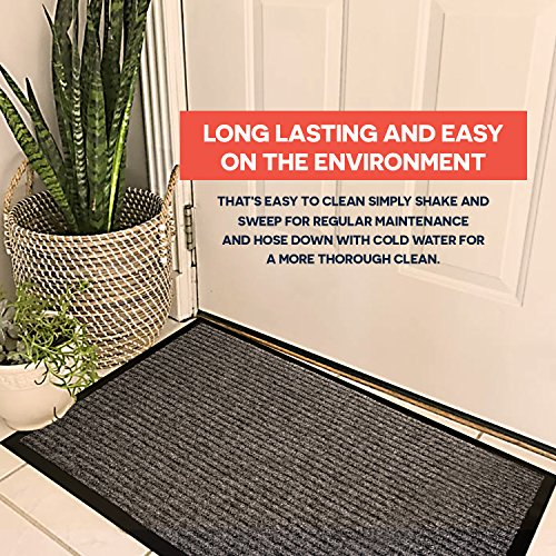 2 Pack Indoor Outdoor Floor Mats For Entryway 17 X 29 5