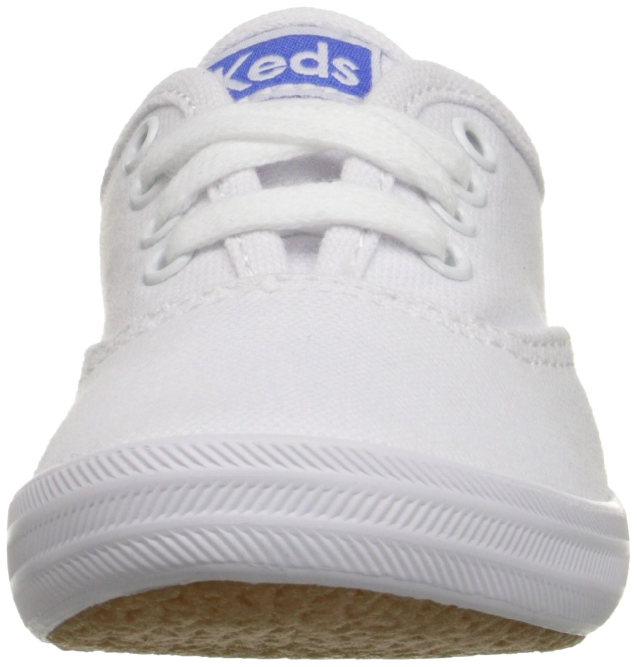 Keds girls Original Champion CVO Sneaker ,White Canvas,1 W US Little Kid by Keds (Image #4)