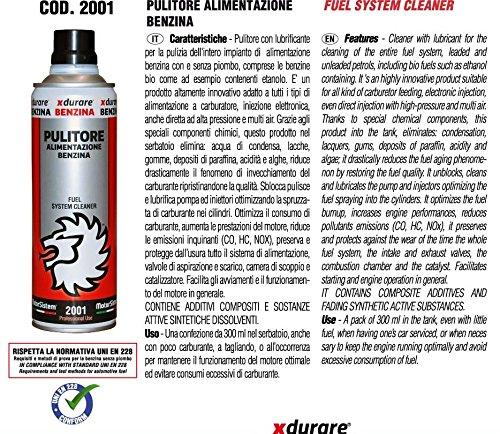 MotorSistem XDURARE Pulitore Alimentazione Benzina cod.2001