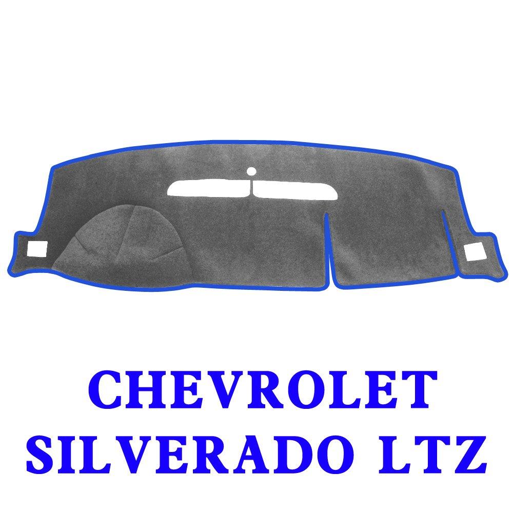 Silverado 88-94,Black-Blue MR025 JIAKANUO Auto Car Dashboard Dash Board Cover Mat Fit for Chevy Chevrolet Silverado 1988-1994