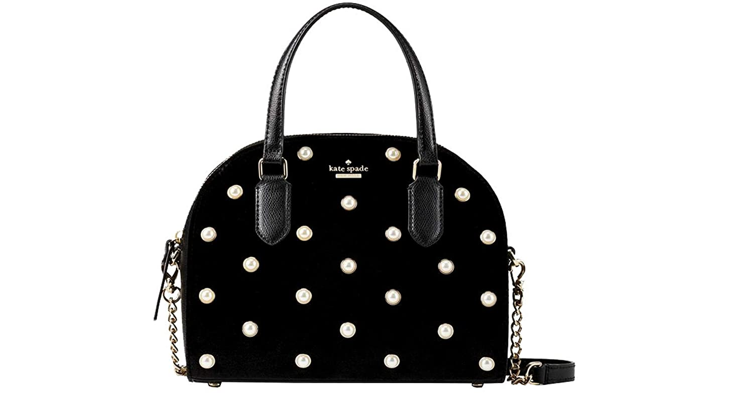 Amazon.com: Kate Spade Laurel Way Velvet Mini Reiley - Bolso ...