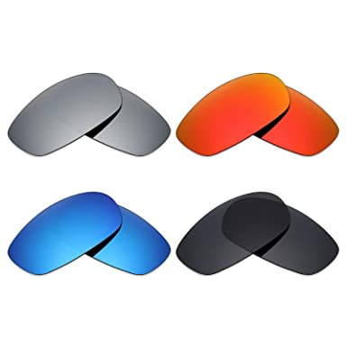 b9fa1f2f52 Image Unavailable. Image not available for. Color  Mryok 4 Pair Polarized  Replacement Lenses for Oakley Square Wire 2.0 ...