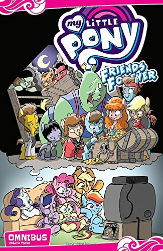 My Little Pony: Friends Forever Omnibus, Vol. 3 Eight Little Ponies