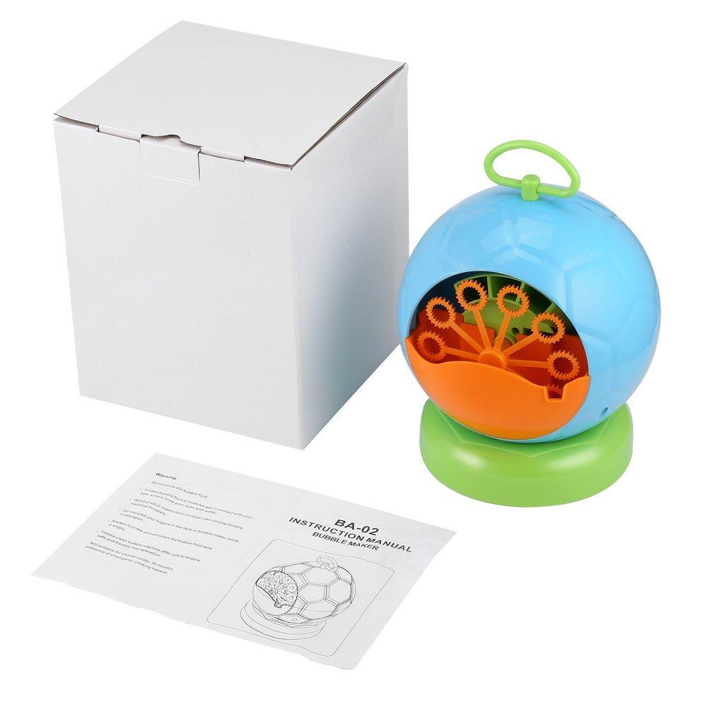 Macchina per Bolle per Produrre Bolle di Sapone Sana per i Bambini per Natale Compleanno Cerimonia Asilo