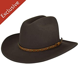 product image for Hats.com Certitude Western Hat - Exclusive Olive, Small